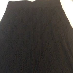 Calvin Klein knit skirt size L